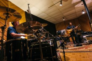 Dave Hess on drums and Dan Sessler on guitar.
