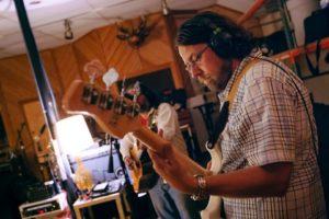 Chad Bennett, bass.